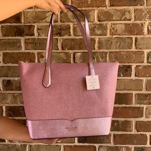 OFFERS? NEW Kate Spade Lola Glitter Totebag